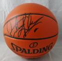 Dennis Rodman Autographed Official NBA Spalding Basketball *Black- JSA W Auth