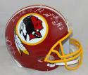 Williams Rypien Riggins Signed Redskins 78-03 TB F/S ProLine Helmet- JSA W *WHT