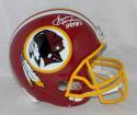 Sonny Jurgensen Signed F/S Redskins 78-03 TB Helmet W/ HOF- JSA W Auth *White