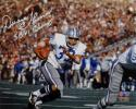 Duane Thomas Autographed Cowboys 8x10 w/ SB VI Champs Photo- Jersey Source Auth