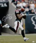 Andre Johnson Signed Houston Texans 16x20 Shoulder Catch Photo- JSA W Auth *White