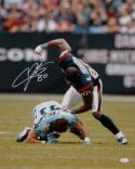 Andre Johnson Signed Houston Texans 16x20 Finnegan Fight Photo-JSA W Auth *White