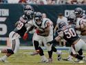 Lamar Miller Autographed Houston Texans 16x20 vs Bears Photo- JSA W Auth