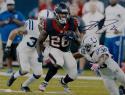 Lamar Miller Autographed Houston Texans 16x20 vs Colts Photo- JSA W Auth