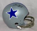 Roger Staubach Signed Dallas Cowboys F/S 64-66 TB TK Helmet W/ HOF- JSA W Auth