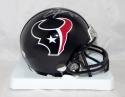 Andre Johnson Autographed Houston Texans Mini Helmet- JSA Witnessed Auth *Silver