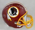 Clark, Monk, Sanders Autographed Washington Redskins F/S Helmet- JSA W Auth