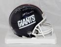 Ottis Anderson Autographed New York Giants TB Mini Helmet W/ SB MVP- JSA W Auth