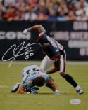 Andre Johnson Signed Houston Texans 8x10 Finnegan Fight Photo- JSA W Auth *White