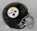 Jack Lambert Signed F/S Steelers 63-76 TB ProLine Helmet W/ STATS- JSA W Auth *Gold