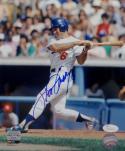 Steve Garvey Autographed Los Angeles Dodgers 8x10 Swinging PF Photo- JSA W Auth