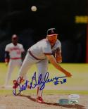 Bert Blyleven Autographed California Angels 8x10 Front View Photo- JSA W Auth