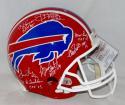 Buffalo Bill Hall of Famers Autographed Full Size 87-01 TB ProLine Helmet- JSA W Auth
