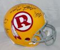 Kilmer Williams Rypien Theismann Jurgensen Signed Redskins F/S TB ProLine Helmet- JSA W Auth