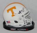 Alvin Kamara Autographed Tennessee Volunteers Schutt Mini Helmet- JSA W Auth