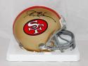 Deion Sanders Autographed San Francisco 49ers 64-95 Mini Helmet- JSA Witn Auth