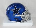 Deion Sanders Autographed Dallas Cowboys BLAZE Mini Helmet- JSA W Auth *White