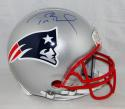 Tom Brady Signed New England Patriots F/S Authentic Helmet- TriStar Auth *Blue