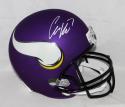 Case Keenum Autographed Full Size Minnesota Vikings Helmet- JSA W Auth *White