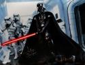 David Prowse Signed Star Wars 16x20 Darth Vader W/ Stormtroopers Photo- JSA Auth *Silver L