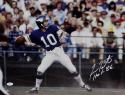 Fran Tarkenton Signed Minn Vikings 16x20 Passing Photo W/ HOF- JSA W Auth *W
