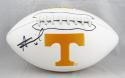 Alvin Kamara Autographed Tennessee Volunteers Logo Football- JSA W Auth