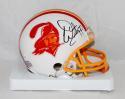 Warren Sapp Autographed Tampa Bay Buccaneers 76-96 TB Mini Helmet- JSA W Auth