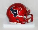 Lamar Miller Autographed Houston Texans BLAZE Mini Helmet- JSA Wit Auth *Silver