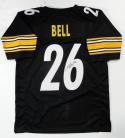 LeVeon Bell Autographed Black Pro Style Jersey- JSA Authenticated *6