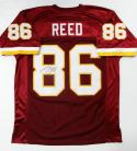 Jordan Reed Autographed Maroon Pro Style Jersey- JSA Authenticated *8