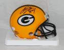 Eddie Lacy Autographed Green Bay Packers Mini Helmet- JSA Authenticated
