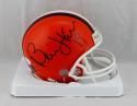 Bernie Kosar Autographed Cleveland Browns Mini Helmet- JSA Witnessed Auth