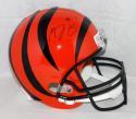 A. J. Green Autographed Full Size Cincinnati Bengals Helmet- JSA W Auth *Black