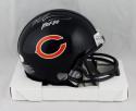 Mike Singletary Autographed Chicago Bears Mini Helmet W/ HOF- JSA W Auth *Silver