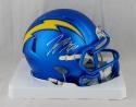 Joey Bosa Autographed San Diego Chargers Blaze Mini Helmet- JSA Witnessed Auth