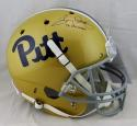 Tony Dorsett Autographed F/S Pittsburgh Panthers Helmet W/ Heisman- JSA W Auth