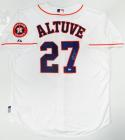 Jose Altuve Signed Houston Astros Majestic Jersey W/ Insc and Patch- MLB Auth