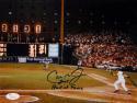 Cal Ripken Jr Autographed HOF Orioles 8x10 Scoreboard Photo- JSA W Auth *Blue