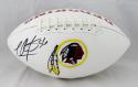 LaVar Arrington Autographed Washington Redskins Logo Football- JSA W Auth