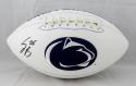 Saquon Barkley Autographed Penn State Logo Football- JSA Witness Auth