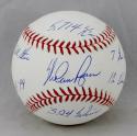 Nolan Ryan Autographed Baseball with 6 Stats- JSA Authenticated/ Ryan Holo