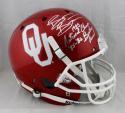 Brian Bosworth Signed OU Sooners F/S Helmet w/ Natl Champ & Butkus-Beckett Auth