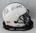 Mike Gesicki Autographed Penn State Mini Helmet - JSA Witness Auth *Black