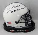 Andre Collins Autographed Penn State Mini Helmet w/ All American - JSA W Auth *Blk
