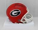 Roquan Smith Autographed Georgia Bulldogs Mini Helmet- JSA W Auth *Black