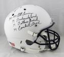 LaVar Arrington Autographed Penn State F/S Helmet w/ 4 Insc - JSA W Auth *Black