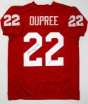 Marcus Dupree Autographed Maroon College Style Jersey - JSA W Auth *L2