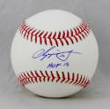 Chipper Jones Autographed Rawlings OML Baseball w/ HOF 18- JSA Witness Auth