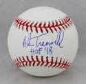 Alan Trammell Autographed Rawlings OML Baseball w/ HOF 18- JSA Witness Auth