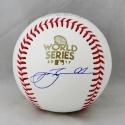 Jeff Bagwell Autographed Rawlings 2017 WS OML Baseball- TriStar Authenticated